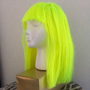 Neon wig by Coco Coquette